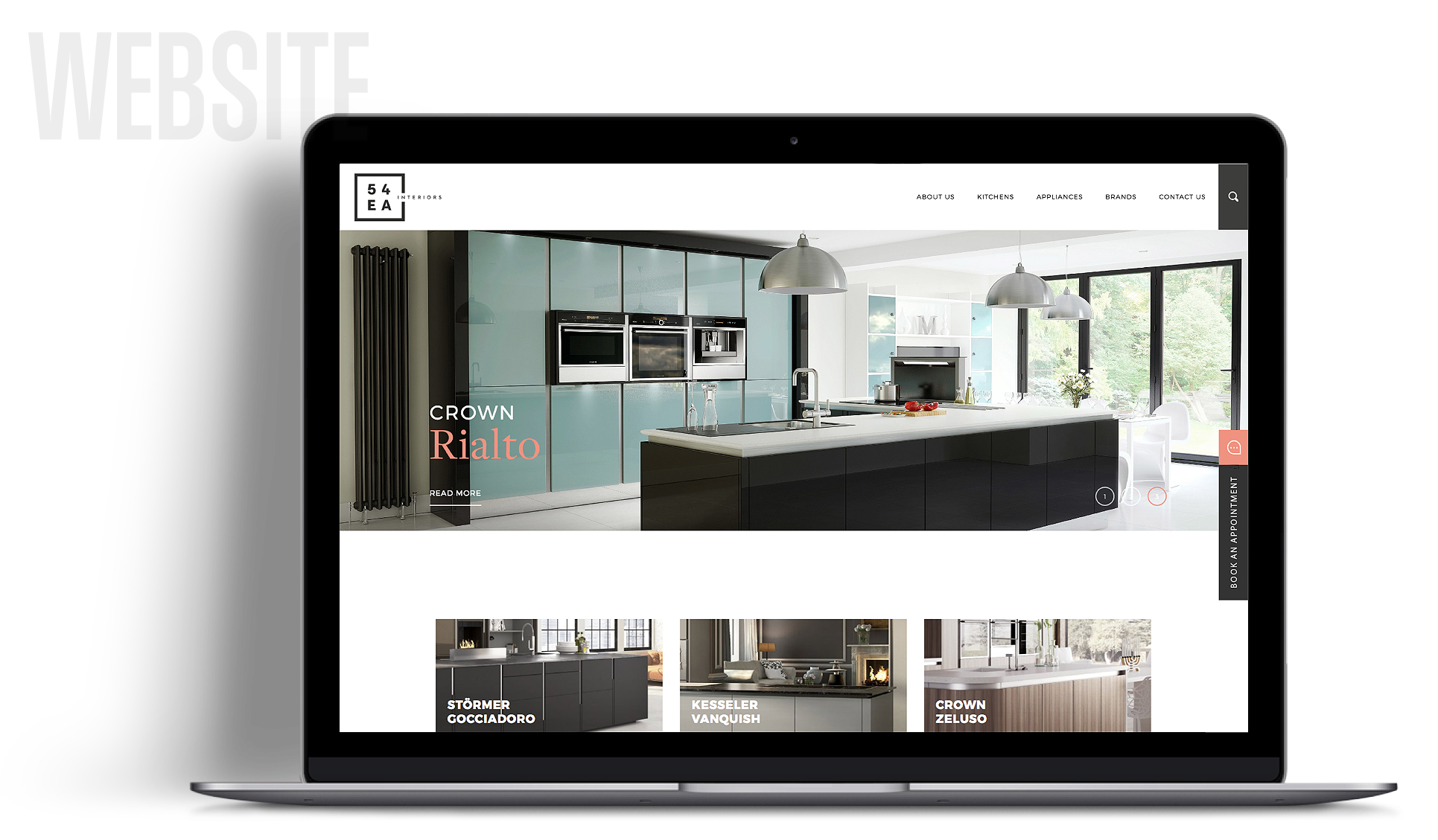 54EA Interiors Website