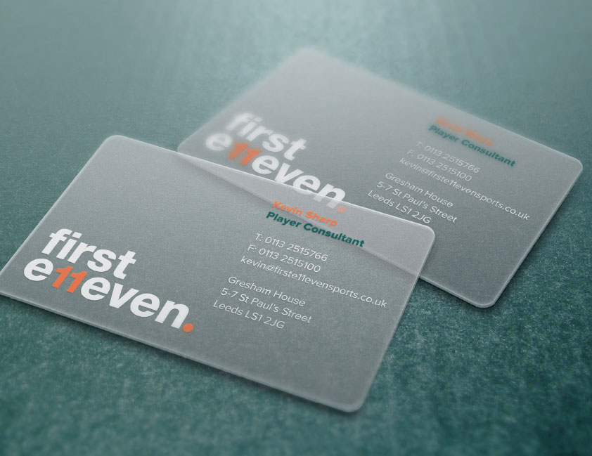 F11 Business Cards