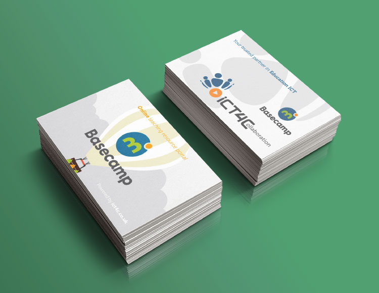 Basecamp Business Cards