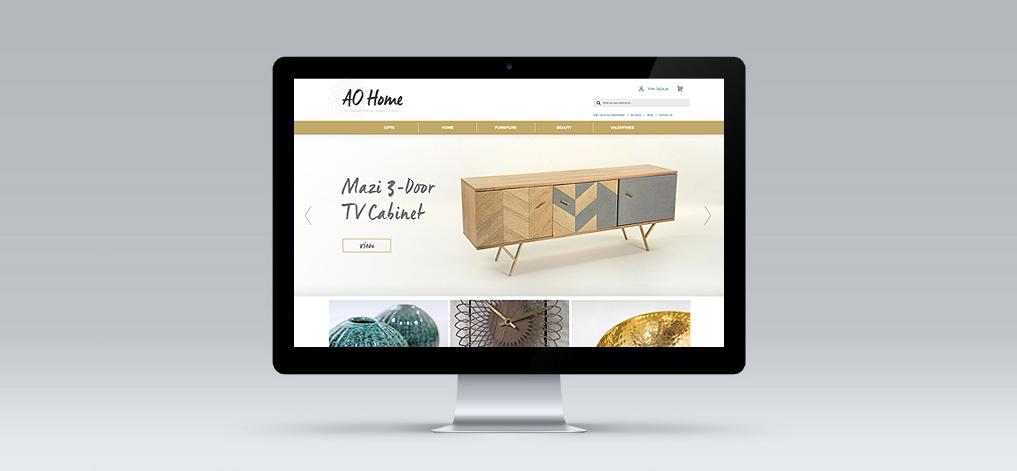 AO Home Website