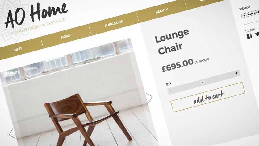 Banner for AO Home Website